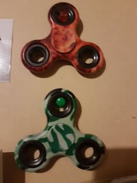 two assorted colors of camouflage hand spinners Port Moody, V3H 2G3