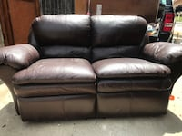 Brown leather couches  Anaheim, 92808