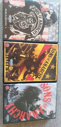 Sons of anarchy sesong 1,2 og 3 Nittedal, 1482