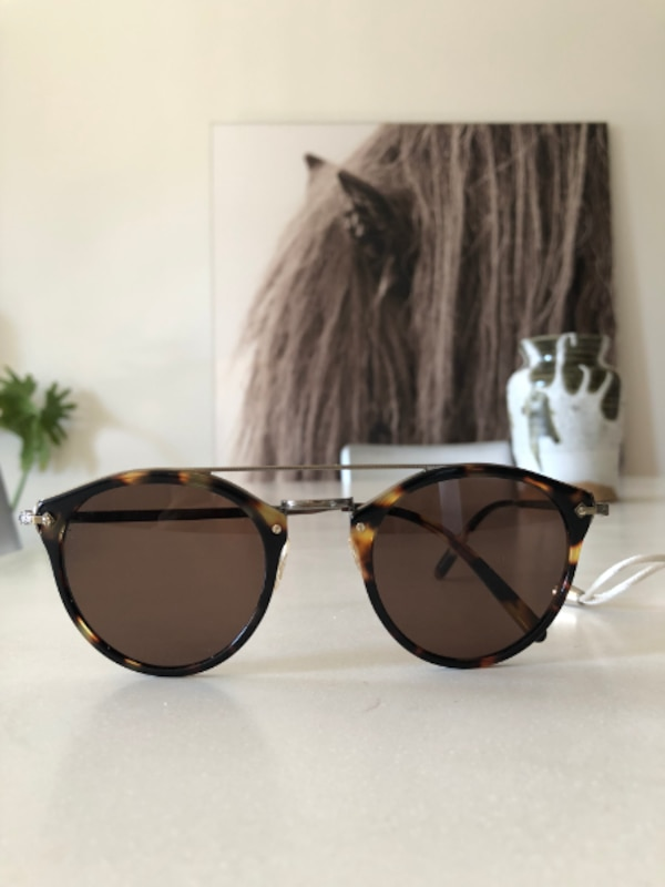 3726df26c61 Used Oliver Peoples Remick OV  TL HIDDEN  Vintage DBT   Brown Sunglasses  for sale in Kings County