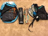 Kiteboarding gear  4795 mi