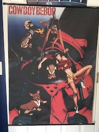 Anime Cowboy Bebop Wall scroll Centreville, 20120