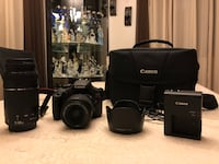 NEW CANON T6 WITH 2 LENSES + CASE!! Glendale, 91202