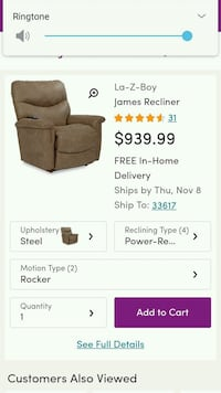 brown and black fabric sofa chair screenshot Jackson, 39206
