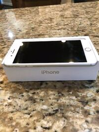 silver iPhone 6 with box