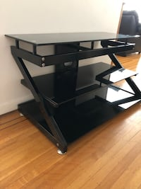 Glass top TV stand  Vancouver, V6J 2K5