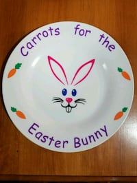 Personalized Easter Plates Hamilton