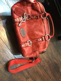 Red Fossil Purse St. Charles, 63303