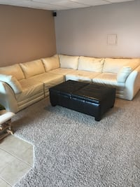 Couch and ottoman Erlanger, 41018