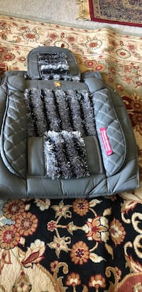 black and gray leather car seat Alexandria, 22306