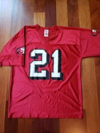 Frank Gore San Francisco 49ers NFL football Jersey size large