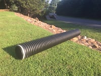 "HD Black Culvert Pipe. 12"" wide x 10 ft long. New never been in ground stored in garage. Haymarket, 20169"