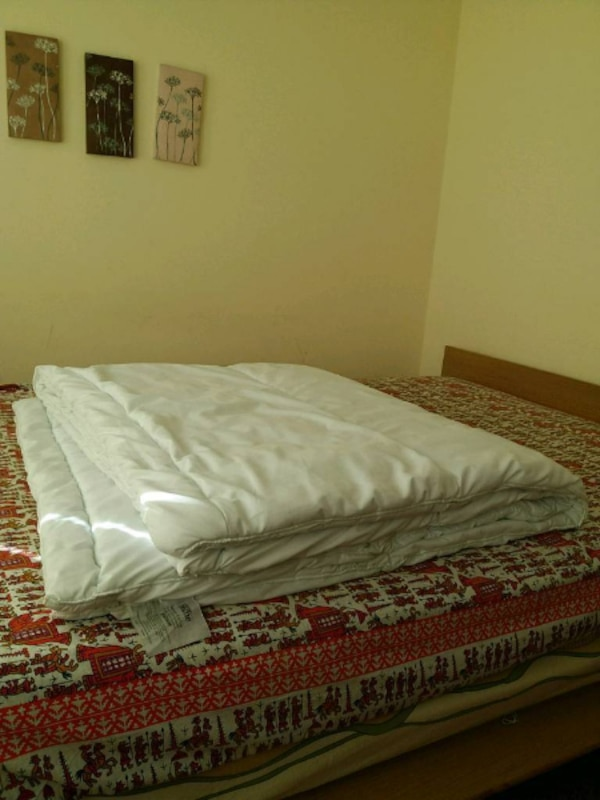 Duvet (quilt), double with pillows set (firm)