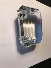 Tiffany Crystal Paperweight
