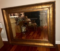 Stunning Ornate Antique Gold Beveled Glass Mirror Centreville, 20121