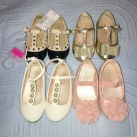 Baby girl dress shoes size 4 like new 1 pair new Toronto, M9W 4L6