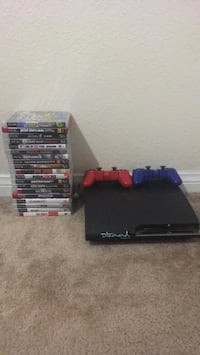 PS3 w/ 2 controllers & Games Bellflower, 90706