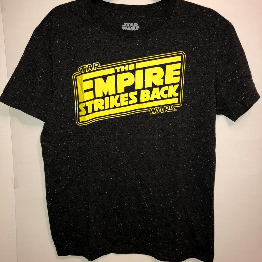 Star Wars Tshirt Tee Empire Strikes Back