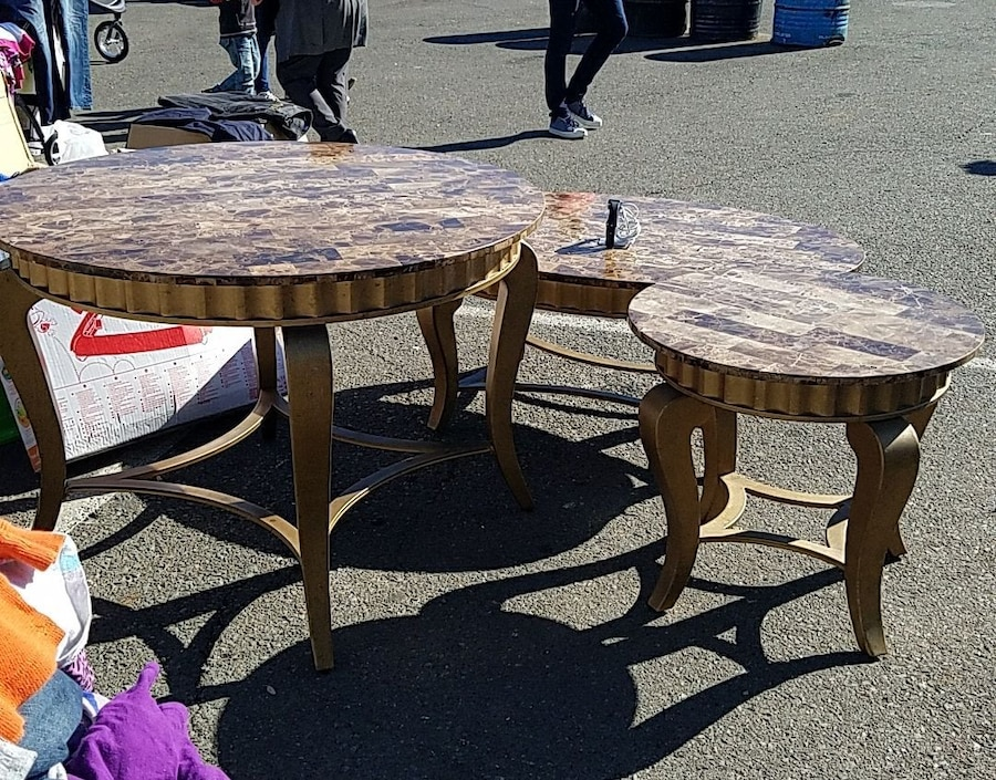 used coffee table dining table and end table for sale in spring rh us letgo com