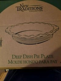 Pampered Chef Deep Dish Pie Plate  Dumfries, 22026