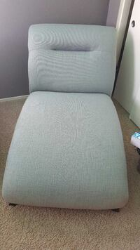 gray fabric padded rolling chair North Las Vegas, 89032