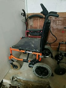 Quickie v 121 electric wheelchair