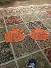 Halloween or thanks giving pumpkin decorations cloth
