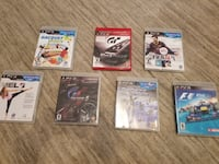 PS3 Games (x7) 525 km