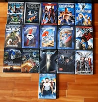 Films de superhéroes dvd superheroes movies Montréal, H1Y 1Z6