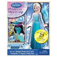 Queen Elsa magnetic toy set with box Ottawa