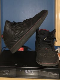 pair of black Air Jordan basketball shoes Washington, 20016