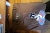 FTP brown shirt with blue and red logo Pico Rivera, 90660