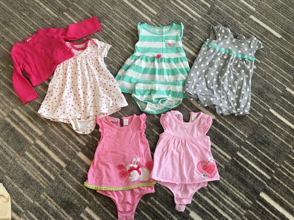 145d02f81e153 Used EUC baby girl 6 month summer clothes. for sale in Vaughan - letgo