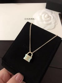 brand new Chanel style lock necklace  New York, 11354