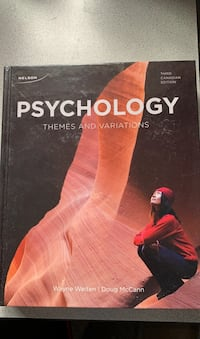 Psychology Textbook Third Edition  Waterloo, N2V 2X9