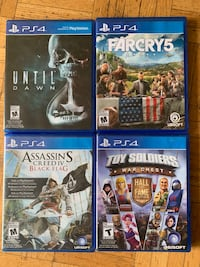 Playstation 4 games Oakville, L6H 2B5