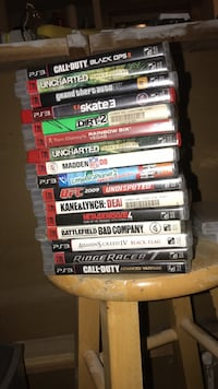 PlayStation game lot