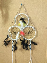 white and black dream catcher Calgary, T2E 2X9