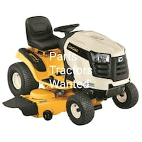 Non Running Cub Cadet lawn tractors wanted  Airville, 17302