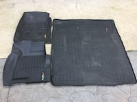 2015 Yukon Weather Tech Floor Mats (front and rear cargo) Niles