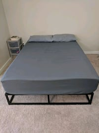Full size 12 inch memory foam with bed frame The Colony, 75056