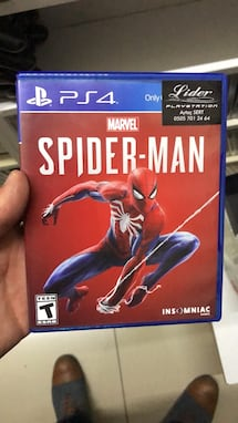 Spiderman Marvel Ps4 oyun