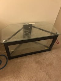 Glass tv stand  Towson, 21286