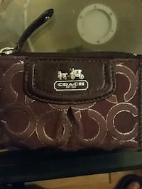 brown Coach leather shoulder bag London, N6C 3K4