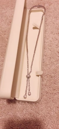 It's white gold necklace with diamonds  Ashburn, 20148