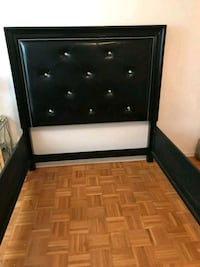 Black Queen Size bed  Toronto, M3C 3A5