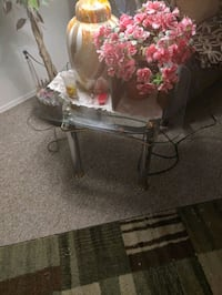 End tables coffee table glass