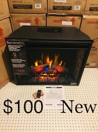 Fireplace Insert with Heat (Electric) Stow, 44224