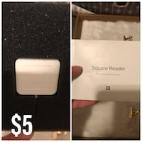 Plug in Square card reader  West Valley City