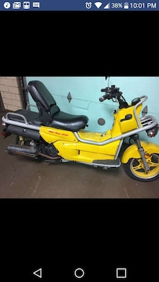 yellow and black motor scooter screenshot